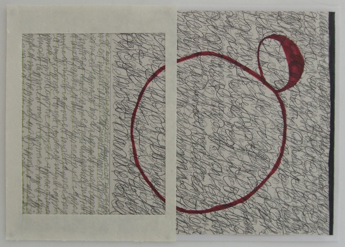 affirmation of approval (mixed media; 42x30cm) 2009