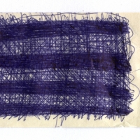 docket 4 (biro on card; 12x6cm) 2009