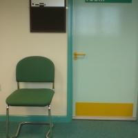 examination room, torquay hospital (digital photo) 2009