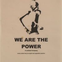 we are the power - poster 3 (inkjet print on paper; 21x30cm) 2009