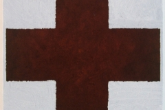 iron-cross-earth-pigments-linseed-oil-gesso-on-canvas-30x30cm-2009