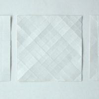 folds (paper; 35x11cm) © p ward 2010
