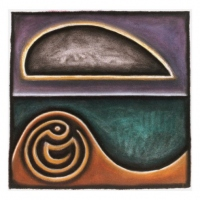 for a moment a cloud moved over the sun (pastel on paper; 35x35cm) 1990 nfs