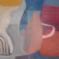beach forms (oil on canvas; 50x75cm; 2007)