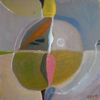 tidal balance (acrylic on canvas; 30x30cm; 2006) sold