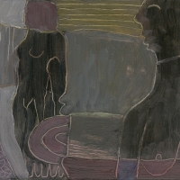 you are my sister (oil on board; 20.5x17cm) 2007