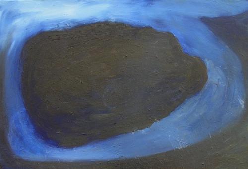 island (oil on board; 21x31cm) 2007
