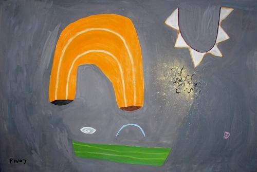buoyancy aids (oil on canvas; 82x122cm) 2007