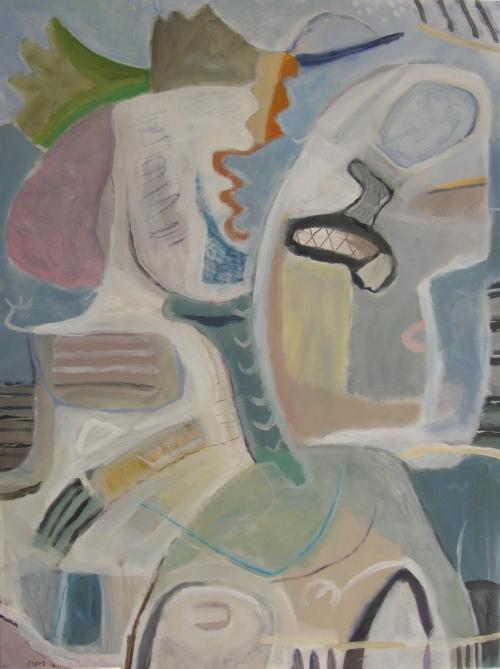 no tree, no roots (acrylic on canvas; 76x104cm; 2007)