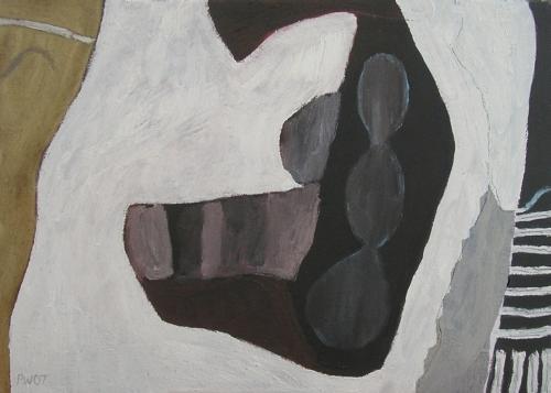 triple goddess (oil on canvas; 32x42cm; 2007)
