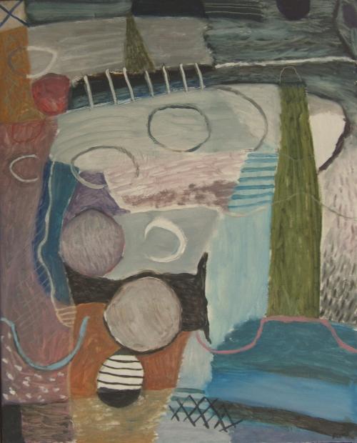 light house (oil on canvas; 70x90cm) 2008