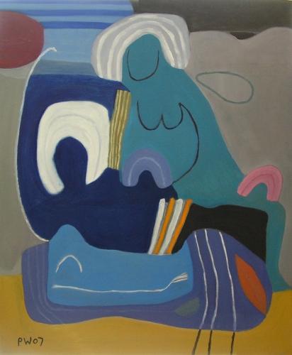 animystic family (oil on canvas; 74x61cm; 2007)