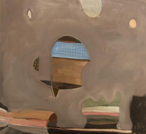 kite surfing (oil on canvas; 63x57cm; 2008)