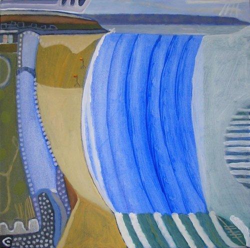 westward ho! (acrylic on canvas; 50x50cm) 2007
