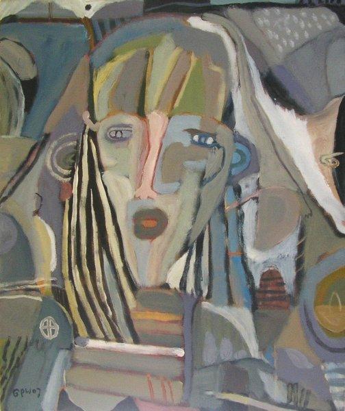 sea witch (acrylic on canvas; 40x50xm) 2007