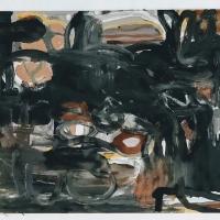 06 fantasy (Cornish earth pigments on watercolour board; 41x30cm)