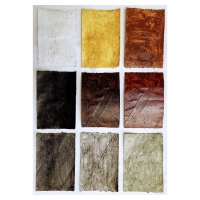 015 9-Cornish pigments (earth pigments and linseed oil on primed salvaged card; 11x16cm)