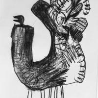 007 turkey spirit - acts beyond self (graphite on paper; 21x30cm)