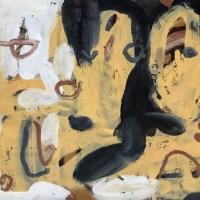 079 uncertain futures (Cornish earth pigments on paper; 73x54cm) © p ward 2020