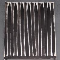 personal exploration 1 (bideford black and pva on paper; 56x56cm) © p ward 2014