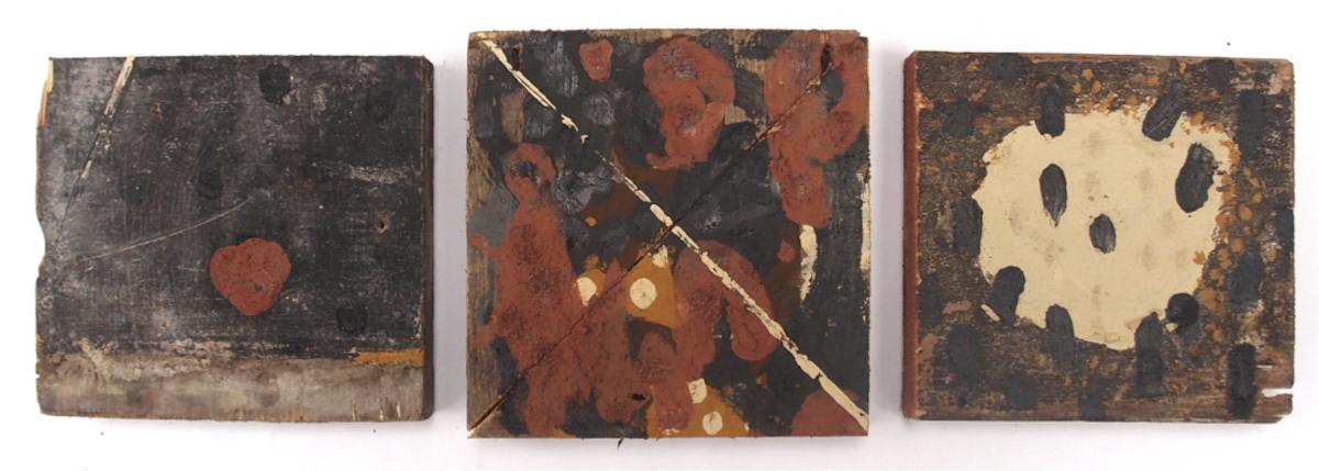 diversity culturale/kulturelle Vielfalt/diversité culturelle/cultural diversity (earth pigments on reclaimed wood) © p ward 2017